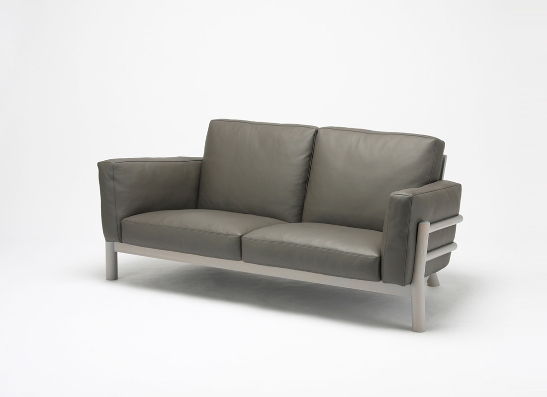 Castor sofa 3seater Leather,가리모쿠60