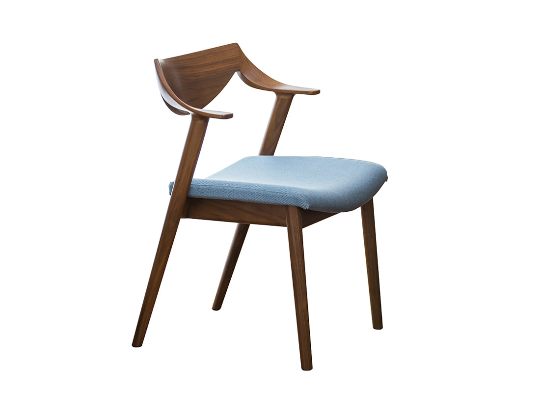 Sphere C31 dining short-arm chair,가리모쿠60
