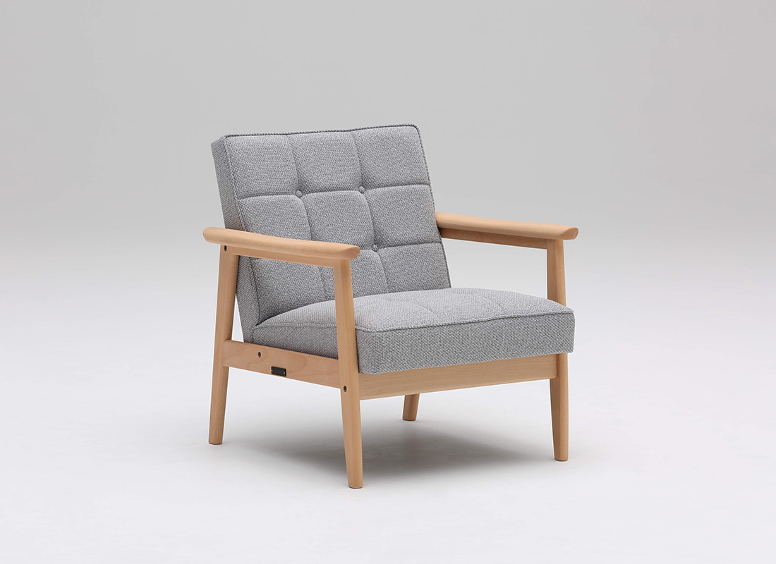 k chair one seater mist gray,가리모쿠60