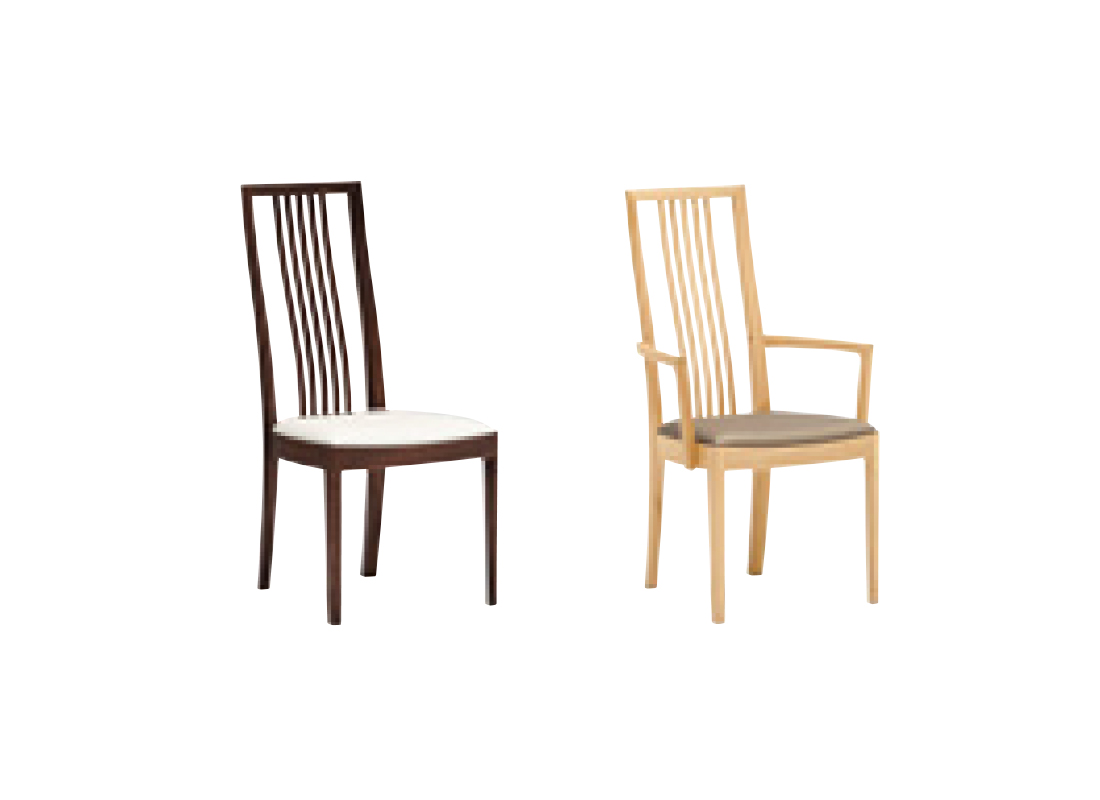CT48 dining armless chair,가리모쿠60