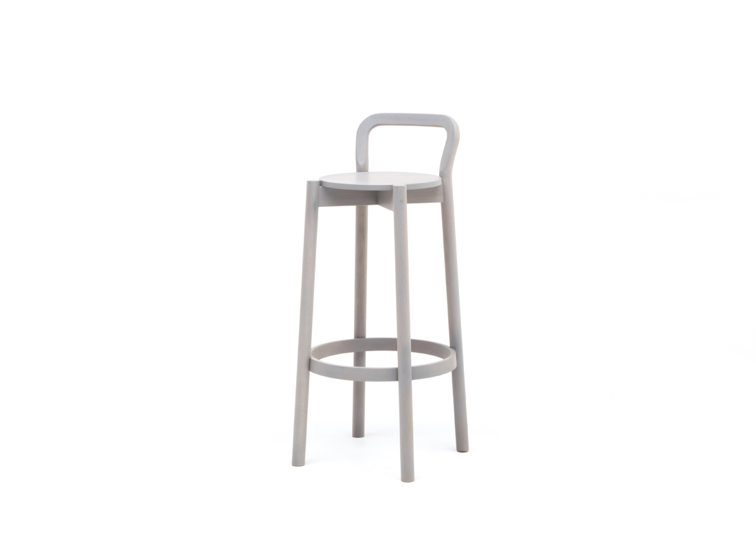 Castor barchair high with backrest,가리모쿠60