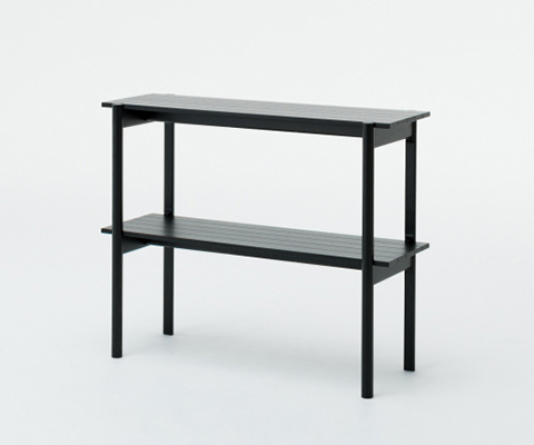 Castor shelf Black,가리모쿠60